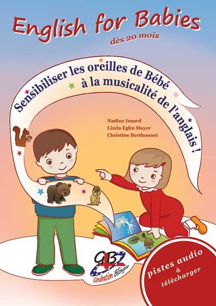 English for Babies – coffret cadeau de naissance (de 0 à 3 ans)