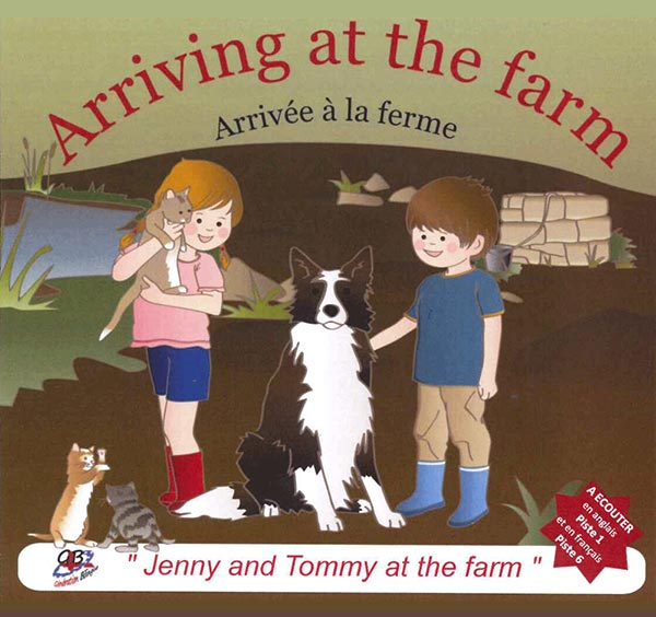 Jenny and Tommy at the farm