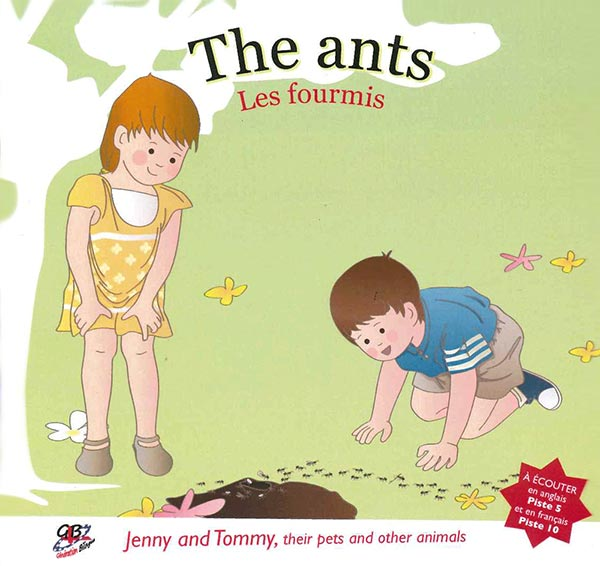 Jenny and Tommy, their pets and other animals