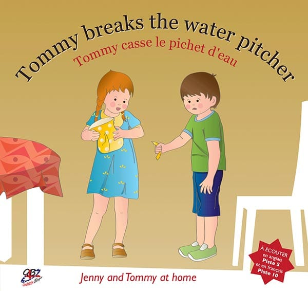 Jenny and Tommy at home