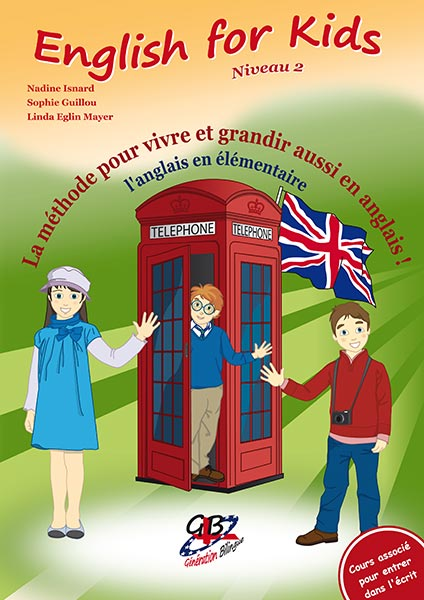 Cours English for Kids niveau 2